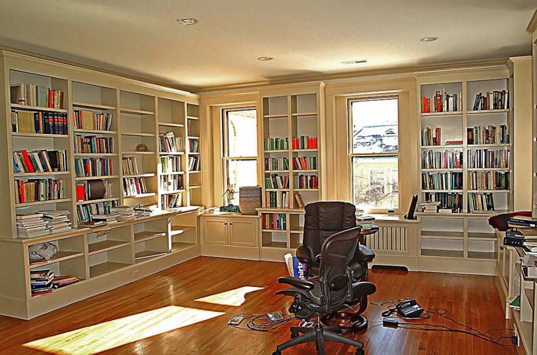 Office And Library Common Vision Kitchen Remodeling Bathroom Remodeling New Haven Hamden